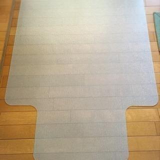 デスクマット 勉強机 家具による床のキズ防止に
