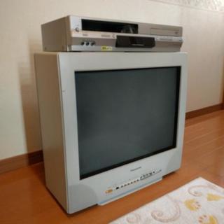 ブラウン管テレビとビデオ&DVDプ...