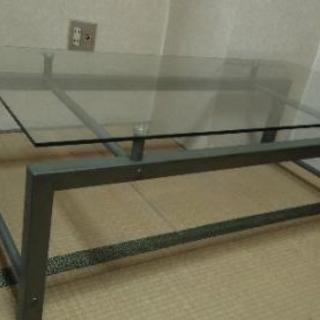 ¥0 ガラステーブル