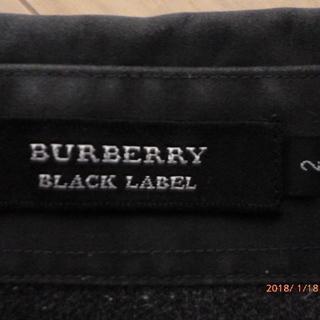 BURBERRY BLACK LABEL 2 (グレー)中古