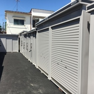 レンタル収納スペース(貸物置)バイクコンテナ利用可🏍平成29年4...