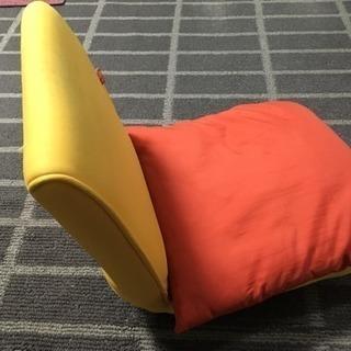 座椅子とクッション