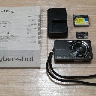 SONY デジタルカメラ DSC-WX1