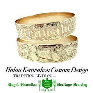 Halau Keawahou Custom Design  今月...