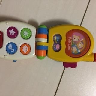 赤ちゃんが喜ぶ お出かけオモチャ携帯電話