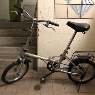 CAPTAIN STAG 折りたたみ 自転車 16インチ キャプテ...