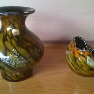 カメイガラス 花瓶 花器 セット