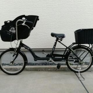 子ども乗せ自転車 非電動 3段変速あり