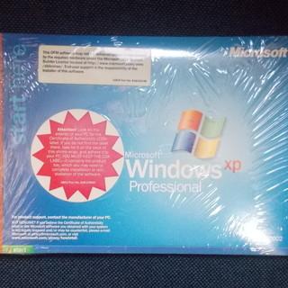 新品未開封 WinndowsXP Pro 英語版 OEM オペレー...