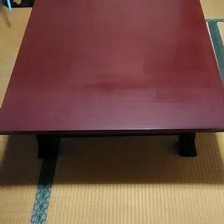訳あり家具 和のテイスト食卓テーブル