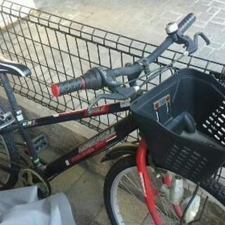 スポーツタイプの自転車の画像