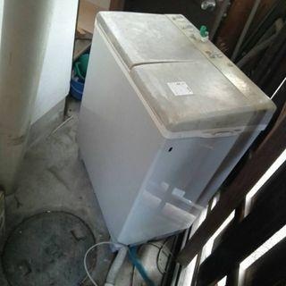 無料☆二層式洗濯機 ジャンク品