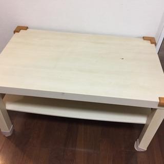 訂正【傷・汚れアリ】IKEAローテーブル