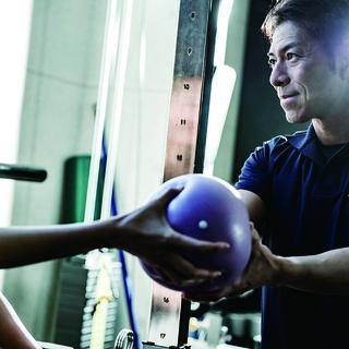 清水忍による『柔軟性向上と体幹連動性トレーニング』
