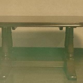 アンティーク調ローテーブル 美品