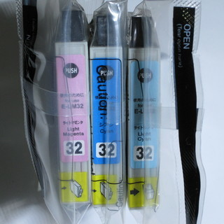 EPSON(エプソン)用互換インク 32系 3色