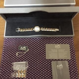 極美品 エルメス クリッパー レディース  腕時計