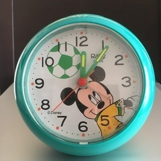 ミッキー目覚まし時計