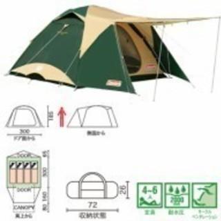 テント&タープ コールマンタフワイドドーム300EX3 & スクリ...