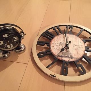 【まとめ売り】掛け時計+置き時計