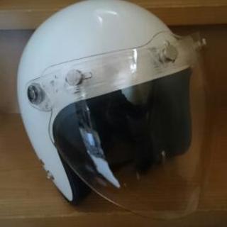 バイク用ヘルメット 白