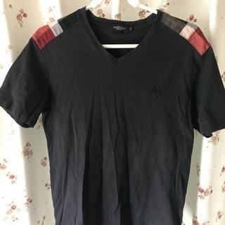 ブラックレーベル クレストブリッジ  半袖Vネックシャツ