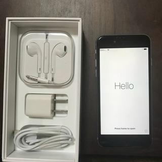 iPhone6  16GB Softbank スペースグレイ
