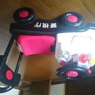 おもちゃ乗り物☆パトカー