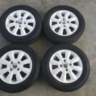 美品!lalapalmララパーム16年製タイヤ付4本セット