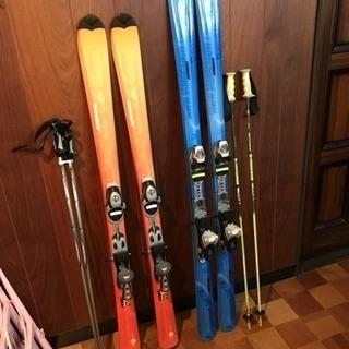 ★取引中★スキー板のペアセット