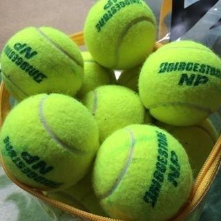 硬式テニスボール中古
