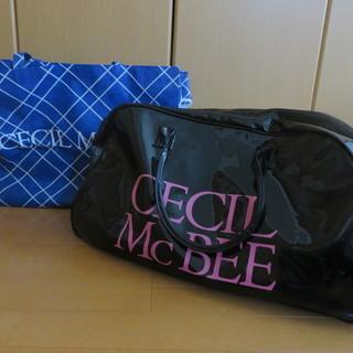 セシルマクビー(CECIL McBEE)ボストンバッグ(黒)&2...