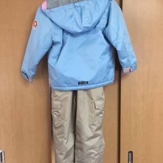120cmスキーウェア女の子