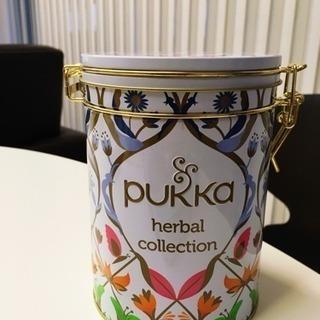 非売品!英国発オーガニックハーブのpukka 缶