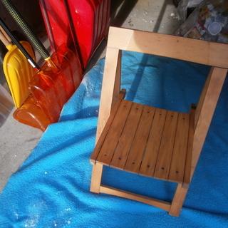 木製折りたたみ椅子