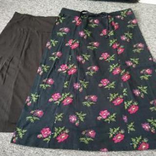 スカート2つで