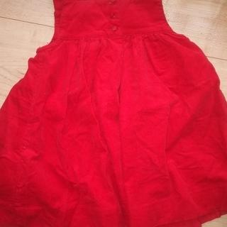 RALPH LAUREN 女児赤いワンピース(サイズ70~80)