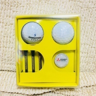 MITSUBISHI ELECTRIC☆ゴルフボールセット 非売品⛳️