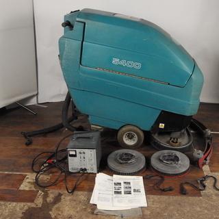 TENNANT テナント スクラバー 5400 自動床洗浄機 充電...