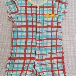 女の子向けカバーオール(70·半袖)