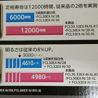 早い者勝ち特別価格で!新品未使用品。蛍光灯 NECライフルック   − 京都府