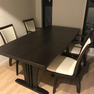 ダイニングテーブル 椅子4脚セット
