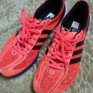 【中古】adidas ランニングシューズ takumi ren