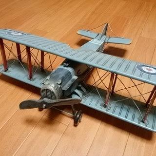 レトロ調の飛行機模型