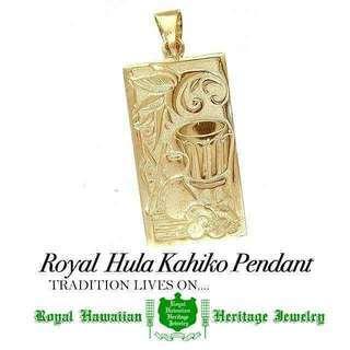 Royal Hula Kahiko Pendant