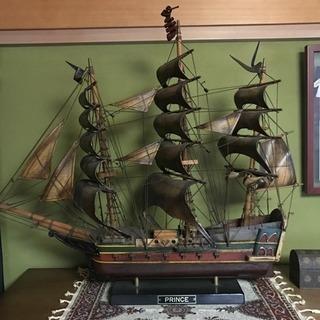 最終値下げ 船 模型 横83cm 高さ66cm(約)
