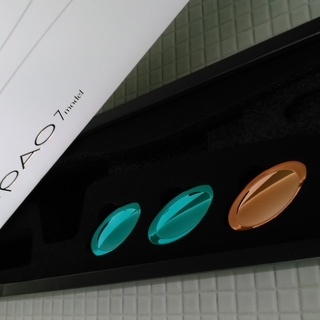 ◆PAO◆ フェイシャルフィットネス パオ 美品 説明書と箱、重量変更パーツ、専用パック付 − 北海道