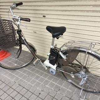 値段下げ 美品 panasonic 電動自転車 8Ahバッテリー