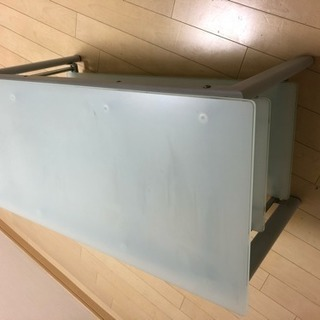 ガラス ローテーブル - 家具