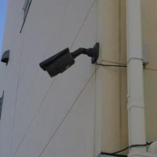 防犯カメラ設置します。
